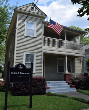 Shea and Barron Law at 1916 Henderson Street, Columbia, SC